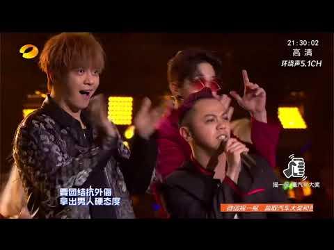 【2017-2018湖南卫视跨年演唱会】罗志祥刘宪华dance battle帅炸 合唱《撑腰》点燃激情 Hunan TV New Year Countdown Concert
