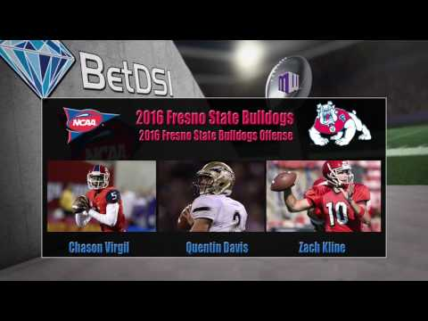 2016 NCAA Betting | Fresno State Bulldogs Team Preview and Odds