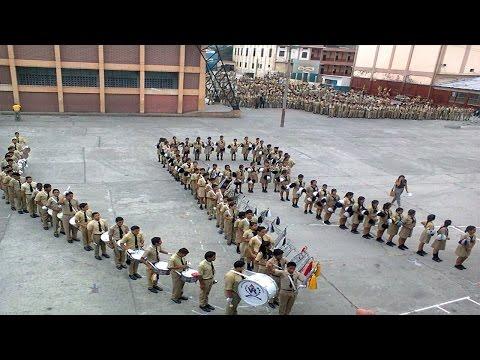 Banda Musical - Colegio Vicente Rocafuerte (Juramento 2014)