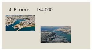Top 10 Biggest Cities in GREECE 2019