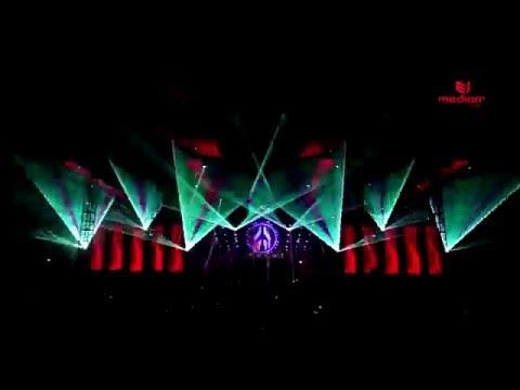 MAYDAY KATOWICE 2015 Pokaz laserowy Mediam