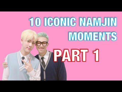 10 ICONIC NAMJIN MOMENTS | JIN & RM [1/4]