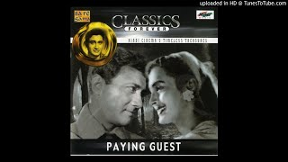 Tribute to film Paying Guest-1957-Chand Phir Nikla_Lata_SD Burman_Majrooh