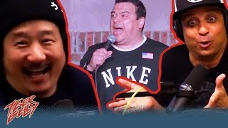 Why Bobby Lee Can't Have Carlos Mencia On His Podcast ft. Johnny Sanchez
