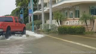 Hurricane Dorian Fringe Effects, Palm Beach, FL - 9/3/2019
