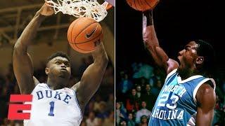 Zion, Michael Jordan, Vince Carter headline best college dunkers   College Basketball Highlights