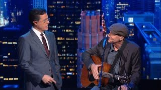 """James Taylor Has Updated """"Fire And Rain"""""""