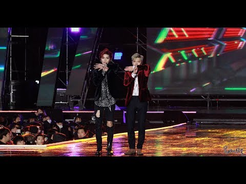 180224 NCT U 태용&텐 Baby Don't Stop [강릉 K-POP 월드페스타] 직캠