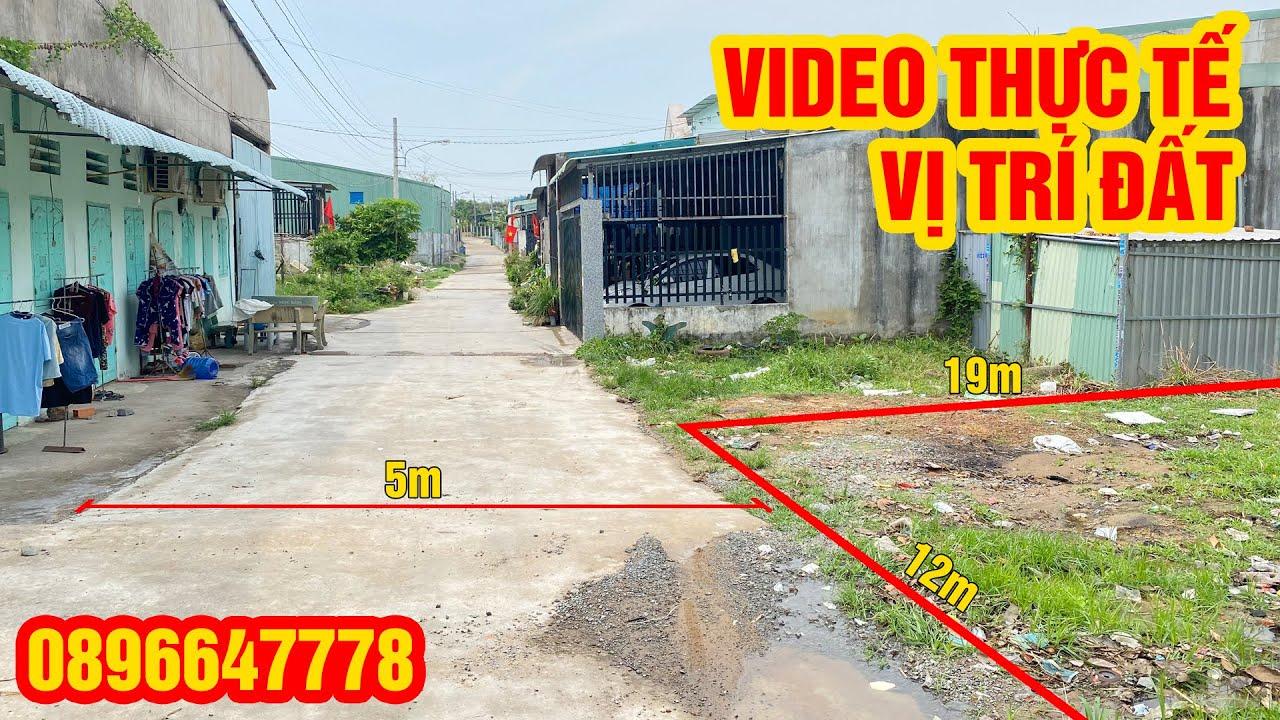 Bán đất chính chủ ở Khánh Bình 9, Tân Uyên 12x19 thổ cư 171m2, sổ riêng video