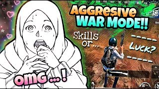 AGGRESSIVE SNIPER WAR MODE!!! - Girl on Fire 🔥🔥 || PUBG Mobile Gameplay