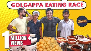 BEST EVER Golgappa Eating Challenge | Delhi Street Food | Bengali Food | Challenge Accepted #24