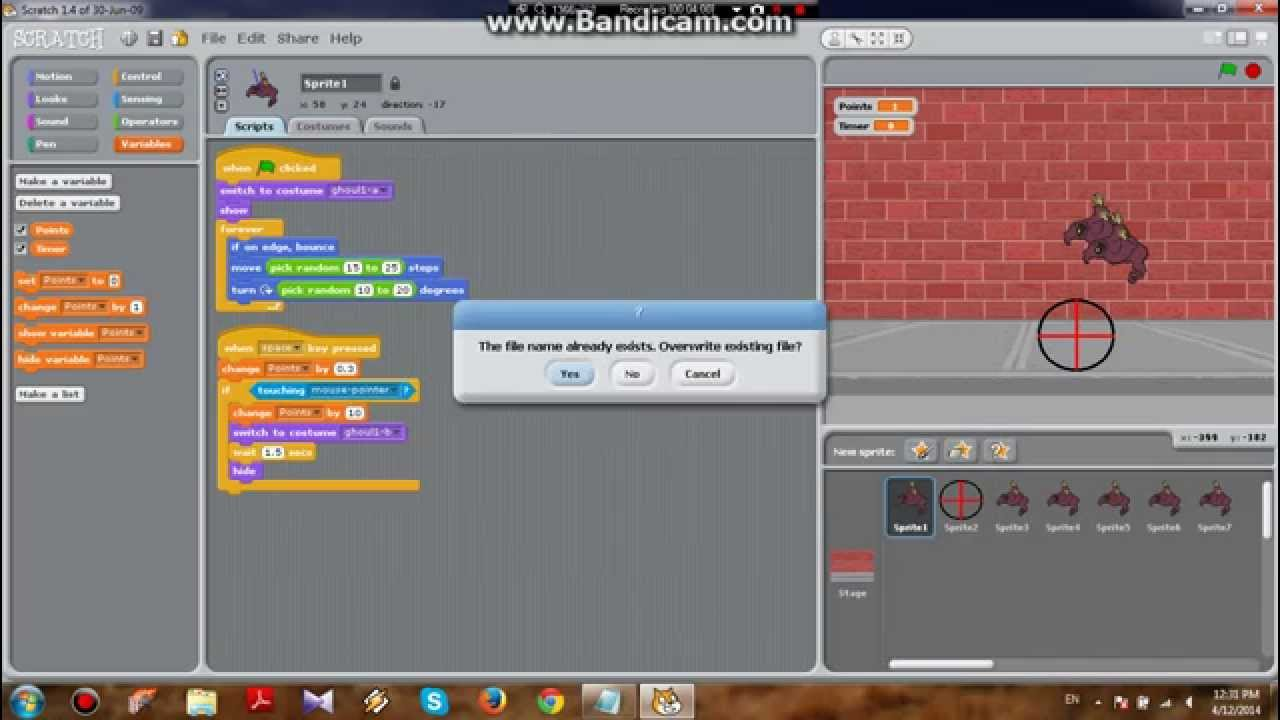 Scratch: Easy Shooting Game - YouTube