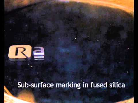 Sub surface marking in fused silica