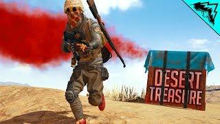 DESERT TREASURE - PUBG WTF RULES (PlayerUnknown's Battlegrounds Custom Games)