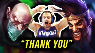 """Tyler1: """"Singed carried the game..."""""""