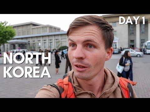 NORTH KOREA as a Tourist  - Pyongyang Day One