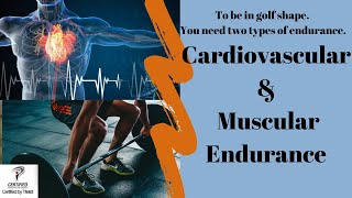 Two types of endurance for golf