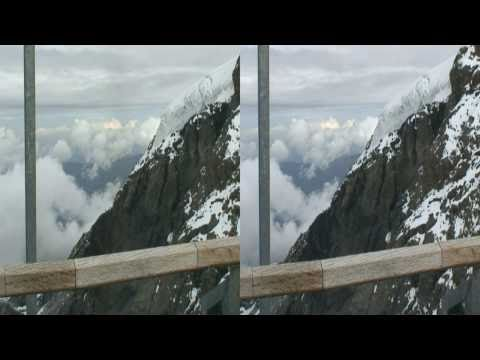 3D HD Swiss Alps: Jungfraujoch and Grindelwald