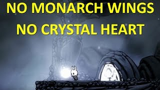 HOLLOW KNIGHT - Hallownest Crown Pale Ore no Monarch Wings no Crystal Heart