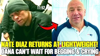 Nate Diaz returns at lightweight, fight in works, Khamzat Chimaev returns on March 13, Dana White