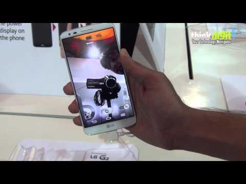 LG G2 Design and camera