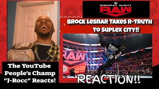 Wwe Raw Highlights Today Live Brock Lesnar Sends R-Truth To Suplex City