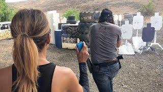 John Wick 3 Weapons Training w/ Keanu Reeves, Halle Berry & Taran Tactical | 5.11 Tactical