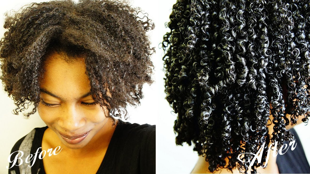 wet and go natural hair styles wash n go gel technique coily hair 4b 4a 3c 8644 | maxresdefault