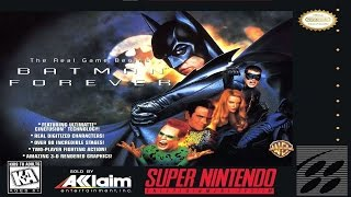 Game | Batman Forever Snes | Batman Forever Snes