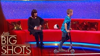 Charley takes his scooter everywhere he goes! | Little Big Shots