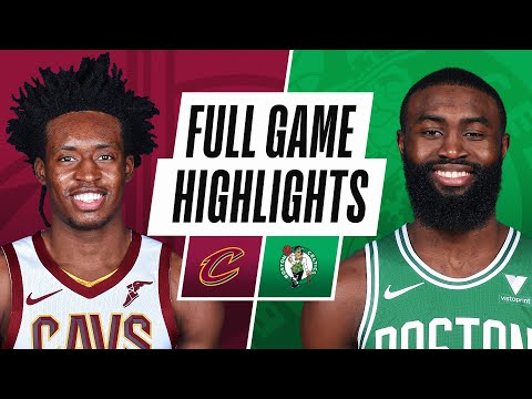 CAVALIERS at CELTICS | FULL GAME HIGHLIGHTS | January 24, 2021