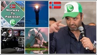 Norway to pakstan by road 2017