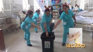 HOSPITAL ARZOBISPO LOAYZA - PASOS DEL LAVADO DE MANOS 2016