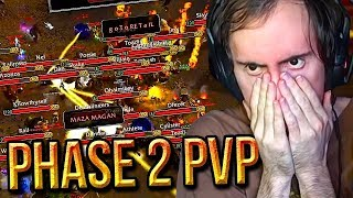 Asmongold Raid Is DESTROYED By The Horde - PHASE 2 World PvP - Classic WoW