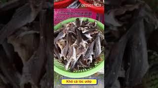 Khô cá lóc ướp hai nắng Hồng Ngự, Đồng Tháp