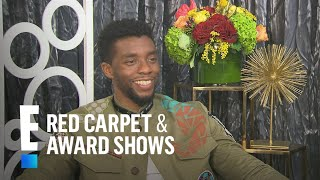 Chadwick Boseman: It's Not Hard to Love Lupita Nyong'o | E! Red Carpet & Award Shows