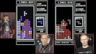 2014 Classic Tetris World Championship Final Match: Harry vs. Jonas