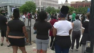 Protest, vigil over Breonna Taylor case in downtown Louisville