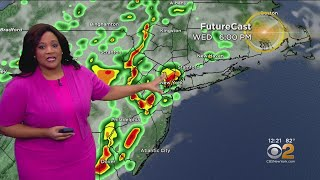 New York Weather: Severe Storms Possible Wednesday