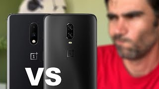 OnePlus 7 vs OnePlus 6T, ¿QUIERES CAMBIAR?   review comparativa en español