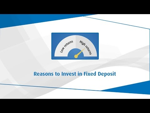 Reason to Invest in FD - Fixed Deposit - Bajaj Finserv