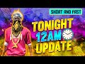 Free Fire Tonight 12am Updates In Telugu || Free Fire To Night Update || 12am Updates In Telugu