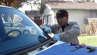 Windshield replacement by Lo Auto Glass Repair, Stockton CA