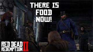 Reactions after Arthur Finally brings food to Colter | Red Dead Redemption 2