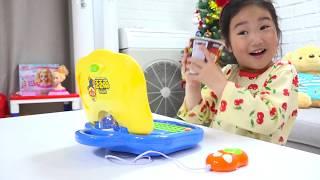 보람이의 뽀로로 컴퓨터 장난감 놀이 Boram and Pororo toys