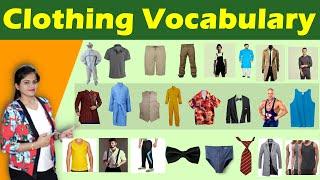 Clothing Vocabulary for Men | पुरुषों के कपड़ों के नाम |Men Clothing Vocabulary  |Spoken English 2021