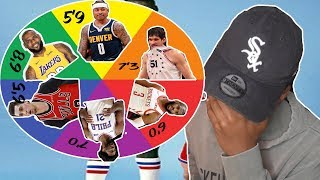 SPIN THE WHEEL OF NBA HEIGHTS IN NBA 2K19