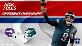 Nick Foles Leads Philly to the Super Bowl! | Vikings vs. Eagles | NFC Championship Player HLs