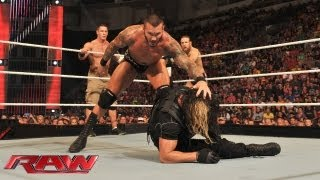 John Cena, Daniel Bryan & Randy Orton vs. The Shield: Raw, August 5, 2013