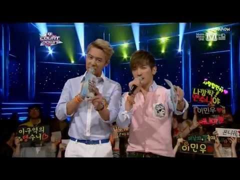 130530 M!COUNTDOWN SHINHWA-OPENING+MC CUT+신혜성